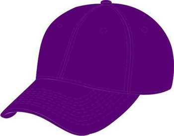 Wholesale Apparel Blank Solid Color Hats - HT907. Solid Purple Ball Cap