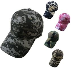 Best Selling Hunting Hats for Men Wholesale - HT155. 100% Cotton Ripstop Plain Camo Hat