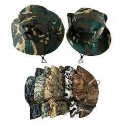 Best Selling Hunting Hats for Men Wholesale - HT1589. Floppy Boonie Hat [Assorted Camo]