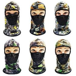Hunting Hats for Men Wholesale - HT7103. Ninja Face Mask [Hardwood Camo with Mesh Front]