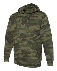 Hunting Sweatshirt - Independent Trading Co. - Midweight Hooded Sweatshirt - SS4500 Forest