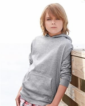 Hoodies Wholesale Bulk Supplier - Blank - Independent Trading Co. - Youth Midweight Hooded Pullover Sweatshirt -