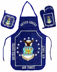 Wholesale Military Aprons - KTS Air Force. Kitchen Set