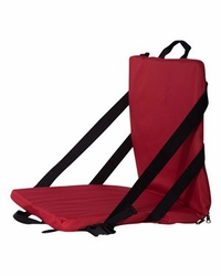 Chair Sports Outdoors Supplier Wholesale Bulk Masachusetts - Liberty Bags - Folding Stadium Seat - FT006 Red