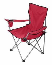 Chair Camping Fishing Hunting Sports Supplier Wholesale Bulk Masachusetts - Liberty Bags - The All-Star Chair - FT002 Red
