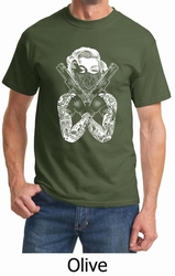 marilyn monroe T SHIRTS OLIVE