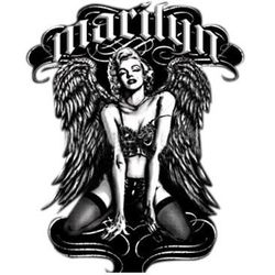 Marilyn Monroe Wings T Shirts Wholesale - a13332c