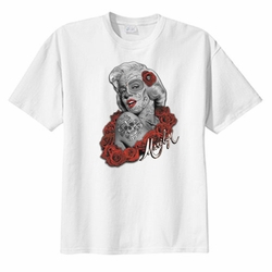 Marilyn Monroe T Shirts Wholesale Bulk Suppliers WHITE