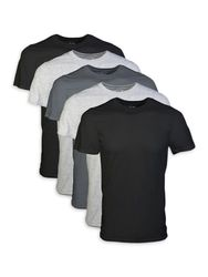 Wholesale Blank Clothing - Men's Short Sleeve Crew Assorted Color T-Shirt up to 2XL