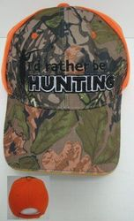 Men's Hats Store Cheap Wholesale Cool Village Bulk Suppliers - HT238. I'd Rather Be Hunting Hat