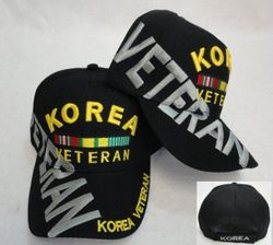 Wholesale Military Korea Veteran Embroidered Caps Suppliers - MSC Distributors
