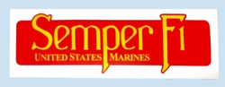 Wholesale Bumper Stickers - BDCL Semper Fi. Military Decal