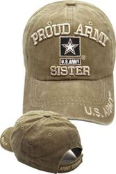 Military T Shirts Hats Wholesale Bulk Supplier - CM-1053 Army Sister