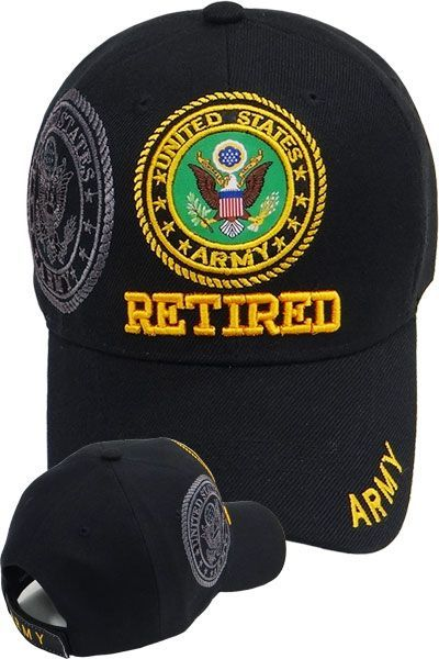 US Military Army Retired Hats and Caps Men s Women s Cheap Wholesale Online  Drop Shipping - MI-243 6fa837a5c