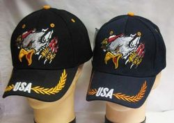 MSC Distributors : Bulk Caps Hats Supplier Wholesale Military Embroidered American USA - CAP678 Eagle Claw Flag