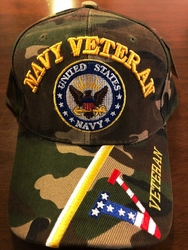 Military Hats Caps Wholesale Bulk Suppliers Massachusetts - Navy Vet SKU 415