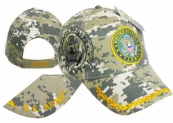 Military Hats Caps Wholesale Licensed Supplier Bulk Massachusetts - CAP601BC Army Seal Shadow Camo Cap