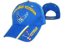 Military Wholesale Buy Cheap Products - Air Force Veteran Military Baseball Caps Hats Embroidered Wholesale Bulk Suppliers - MSC Distributors