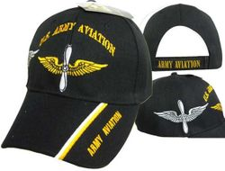 MSC Distributors : Bulk Caps Hats Supplier Wholesale Military Embroidered American USA - CAP566 Army Aviation CaP