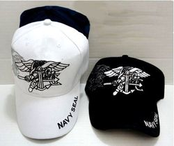 Navy Seal, Military Hats, Military Caps, Military Headwear Wholesale Bulk Suppliers Cheap Online - ECAP345b. Military Embroidered Cap