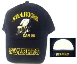 Seabees, Military Hats, Military Caps, Military Headwear Wholesale Bulk Suppliers Cheap Online - ECAP391b. Military Embroidered Cap