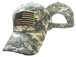 Wholesale Military US Tactical American Flag Hats - MSC Distributors