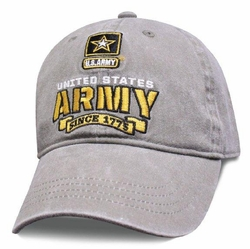 Hats Caps Wholesale Bulk Supplier - Military Patriotic Veteran - HT3009. Licensed Army Cap [Fury]