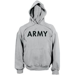 Bulk Wholesale Clothing US Army Pullover Sweatshirts - Grey - Military Suppliers - MSC Distributors