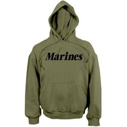 Bulk Wholesale Clothing Marines Hoodies Military Suppliers - Military Green - MSC Distributors