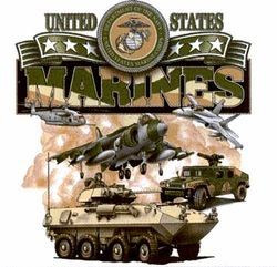 Marines T Shirts Bulk - MSC Distributors