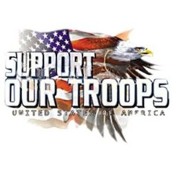 Support Our Troops T Shirts - A11721A