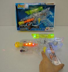 Party Toys Wholesale Merchandise Suppliers - Party Supplies - Kids Toys Games - TY1194. Gun Galactic Light 'n Sound Space Gun