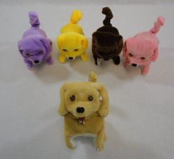 Party Toys Wholesale Merchandise Suppliers - Party Supplies - Kids Toys Games - TY621. Barking and Rolling Dog [Solid Color]