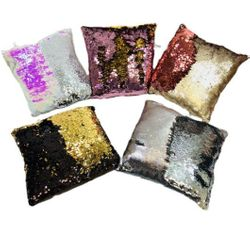 Party Toys Wholesale Merchandise Suppliers - Party Supplies - Kids Toys Games - TY658. 11x12 Reversible Sequin Pillow [Square]