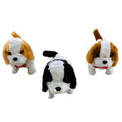 Wholesale Convenience Store Suppliers - TY683. Barking and Walking Dog [Colored Ears & Tail]