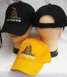 Best Selling USA Patriotic Wholesale Military Hats Bulk Suppliers - CAP982 Dont Tread On Me