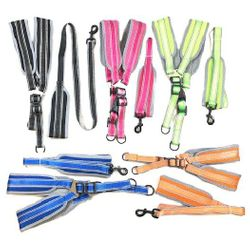 Best Selling MSC Distributors : Dog Pet Supplies - Nylon Padded Dog Harness with 48 Leash [Large]