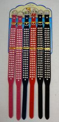 Pet Products Wholesale Suppliers - PS112. 20 Felt Collar [Triple Rhinestones]