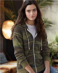 Wholesale Clothing and Apparel - Best Sweatshirts Women's Camouflage Zip - MSC Distributors