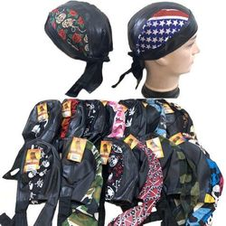 Shop Wholesale Clothing Biker Assorted Leather-Like Skull Caps