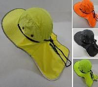 Shop Wholesale Clothing Fishing Hunting Online - Legionnaires Hat [Solid Color with Mesh Sides] Neon-Black