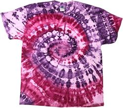 Colortone Youth Adult Tie Dye T-Shirt  ice pink