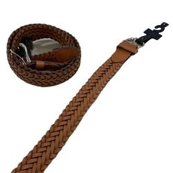 Shop Wholesale Clothing Online Store - Belt--Braided Brown (All Sizes)