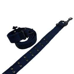 Shop Wholesale Clothing Online Store - Belt--Canvas Belt with Holes (All Sizes) Navy