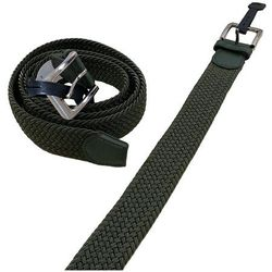 Shop Wholesale Clothing Online Store - Braided Stretch Belt Army Green (All Sizes)