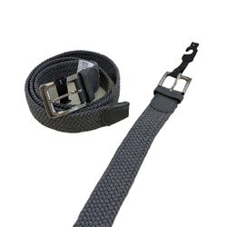 Shop Wholesale Clothing Online Store - Braided Stretch Belt Gray (All Sizes)
