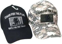 Wholesale Military Stand For The Flag Kneel for the Fallen Hats - MSC Distributors