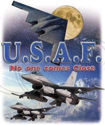 Wholesale Air Force T Shirts - MSC Distributors