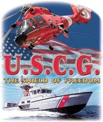T Shirts Gildan Wholesale Bulk Suppliers Clothing USA - US Coast Guard Military T Shirts - MSC Distributors