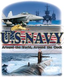 US Navy Military T Shirts - MSC Distributors